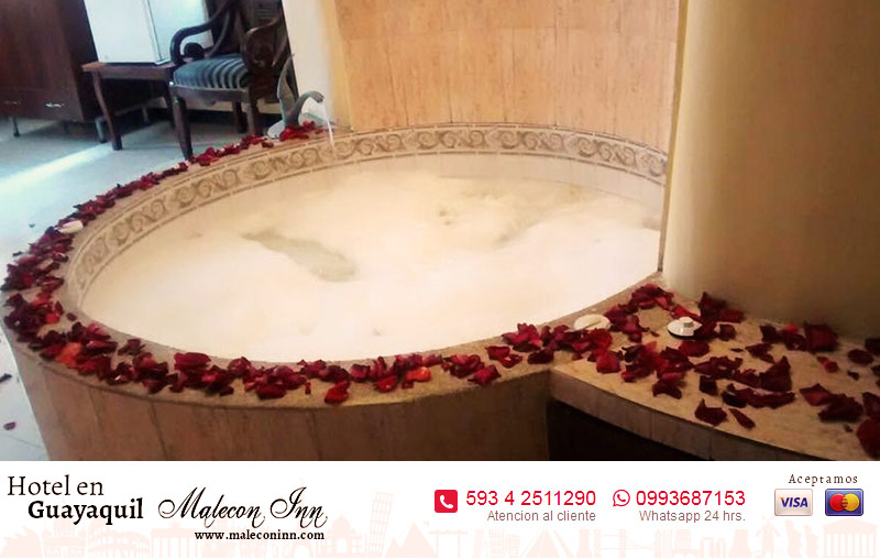 hotel con jacuzzy en guayaquil